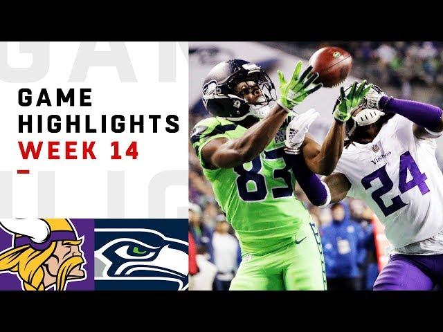 Seahawks vs. Vikings Week 14 Highlights  NFL 2018