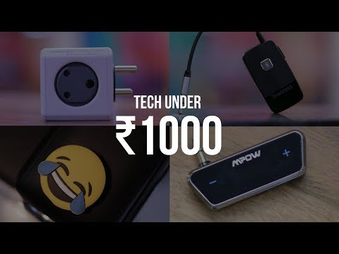 7 Cool Tech Under 1000 INR You Can Buy