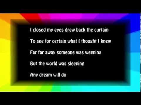 Any Dream Will Do Karaoke