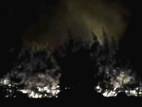 Пожар около четвертой школы (Лунинец)