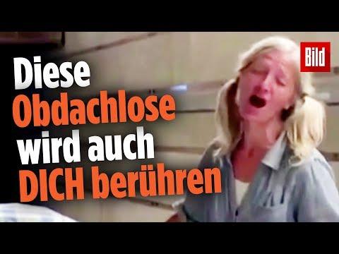 U-Bahnsteig als große Bühne: Obdachlose Frau singt wie in einer Oper
