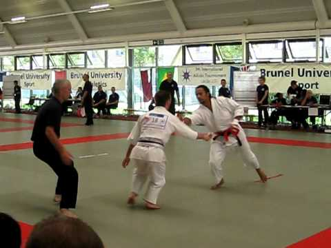 2011 International Aikido Tournament - Men's Tanto Randori: Gonzalez vs. Mazacs Image 1