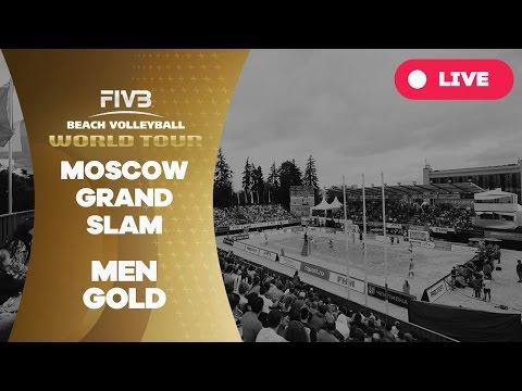 Moscow Grand Slam - Men Gold - Beach Volleyball World Tour