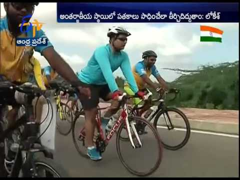 'Will Support Handicapped Sports Persons' TDP Leader Lokesh