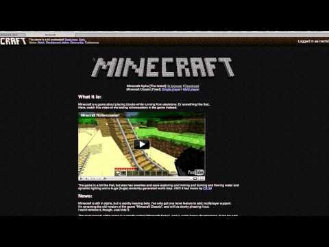 On Minecraft