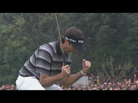 Bubba Watson birdies the 73rd hole to win the WGC-HSBC Champions