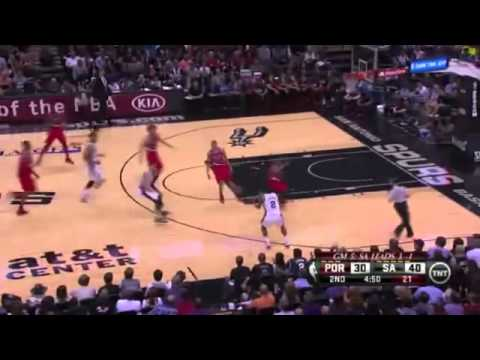 Portland Trail Blazers 82 x 104 San Antonio Spurs Game 5 Playoffs NBA 2013/2014