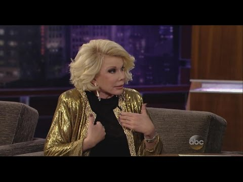 Joan Rivers' Final Interview With Jess Cagle