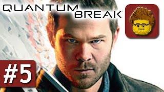 Quantum Break - #5 - Zeit für TV - Let's Play - Gameplay - German - Xbox One