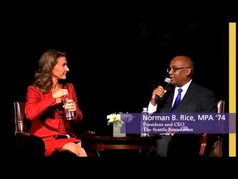 Melinda Gates Remarks at the Evans School 50th Anniversary Gala