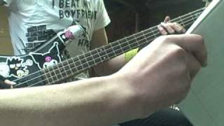 Flobots Covered to be punk, on bass