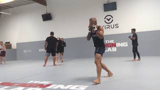 Shadow Boxing Warm Up With UFC Bantamweight Champion Tj Dillashaw