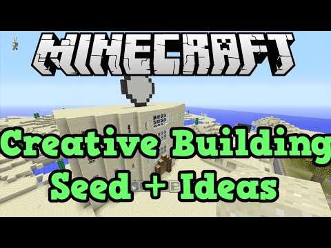 Minecraft Xbox + PS3 Seed: City Building / Creative Seed