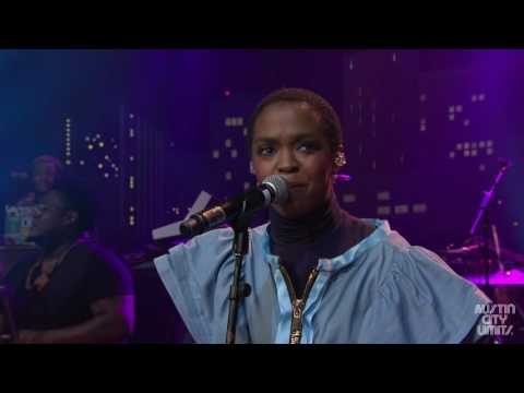 """Ms. Lauryn Hill """"Doo Wop (That Thing)"""" on Austin City Limits"""