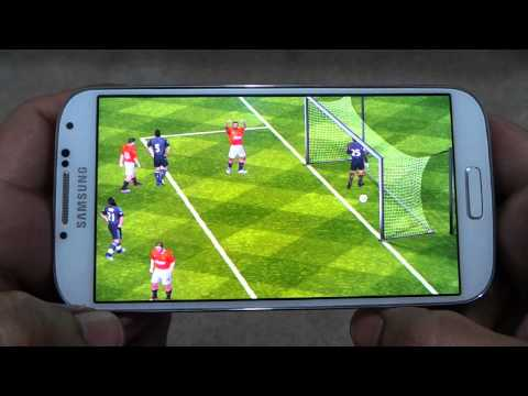 SAMSUNG GALAXY S4 FIFA 12 GAMEPLAY