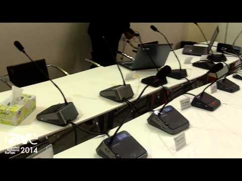 ISE 2014: Gonsin Shows Its Wireless and Wired Microphone Series for Conferencing