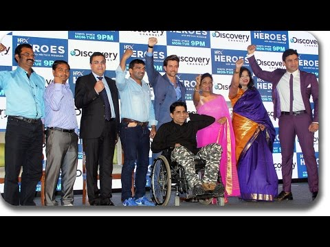 Hrithik Roshan Launches Discovery's 'HRX Heroes' | Press Conference