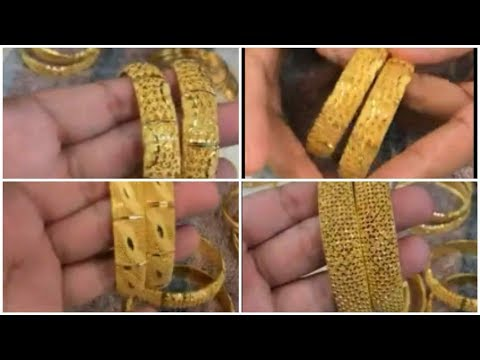 Latest gold design bangles