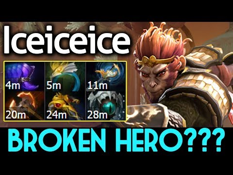 Iceiceice Dota 2 [Monkey King] Broken Hero ??