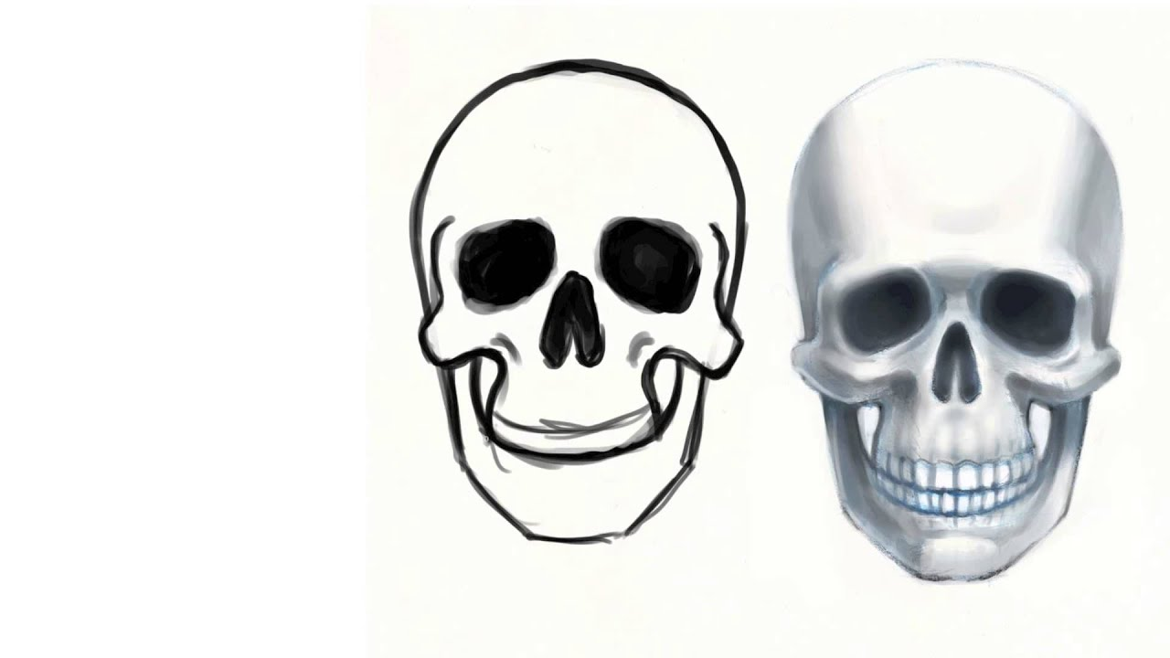 Tutorial disegno lezione 05 tutti possono disegnare il - Come disegnare immagini di halloween ...