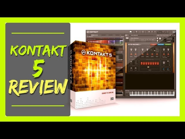KONTAKT 5 REVIEW | Sonido Hip Hop