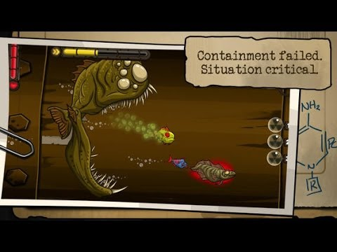 Zombie Fish Tank iPhone/iPad GamePlay