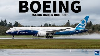 Boeing's Major Order Drop