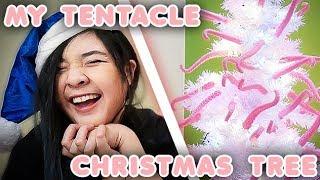 MY NEW TENTACLE CHRISTMAS TREE!!!