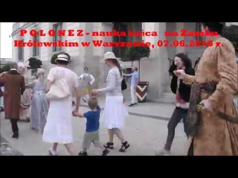POLONEZ - Nauka Tańca Na Zamku Królewskim