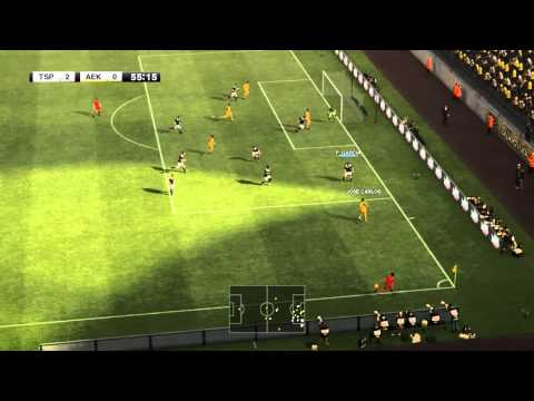 Pro Evolution Soccer 2012: ΠΑΟΚ - ΑΕΚ