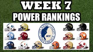 ACC Week 7 Power Rankings - College Football - NC State on the Rise