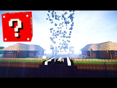 Minecraft LUCKY BLOCKS SPECIAL - TORNADO MOD