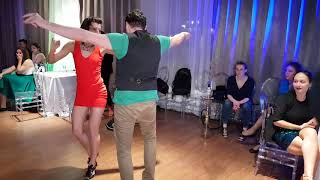 Social dancing at Salsa Night Awards 2017 Friday night