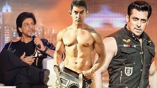 Shahrukh Khan WISHES LUCK for Salman Khans KICK & Aamir Khans PK