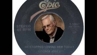 Watch George Jones He Stopped Loving Her Today video