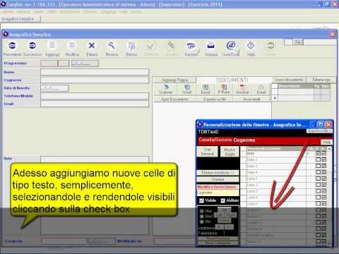 EasyDoc – Mai più carte sulla scrivania – Manuale – 4#  Personalizzazione delle gestioni