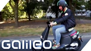 Elektro-Scooter-Sharing App im Check | Galileo Lunch Break