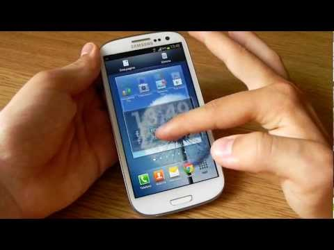 Samsung Galaxy S III con And