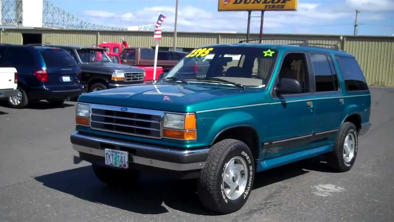 1993 Ford Explorer 4x4 Sold Youtube