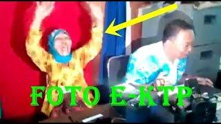 LUCU!!! Proses FOTO E-KTP Nenek ini Bikin Ketawa Seruangan ...