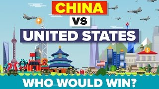 China vs United States (USA) 2016 - Who Would Win - Military Comparison