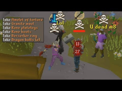 Anti-PKing Rushers for BIG Loot