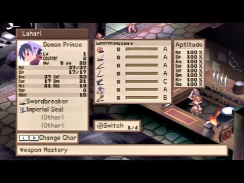Let's Play Disgaea #001 - Burn in Hell