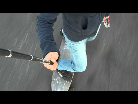 E-glide 42 special electric skateboard part2 (short ver.)