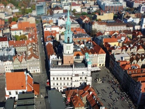 Rynek W Poznaniu Z Lotu Ptaka