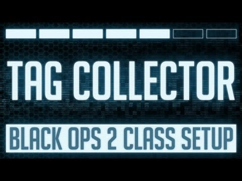 Tag Collector : Black Ops 2 Kill Confirmed Class Setup