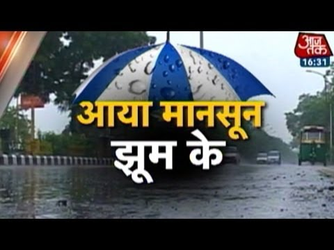 First monsoon showers in north India
