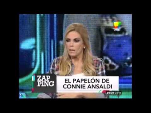 En Zapping se rieron del papelón de Connie Ansaldi cuando mató a Thalía