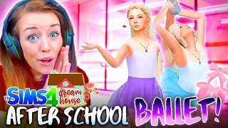 👯‍♀️BALLET AFTER SCHOOL CLUB!👯‍♀️ (The Sims 4 #79!🏡)