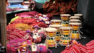 Rajasthani Handicrafts & puppets at International Kite Festival